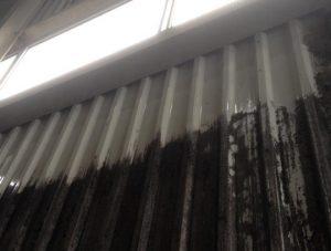 czyszczenie blachy trapezowej