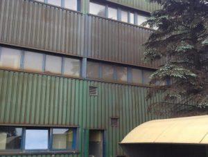 brudny budynek