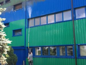 mycie wodą pod ciśnieniem