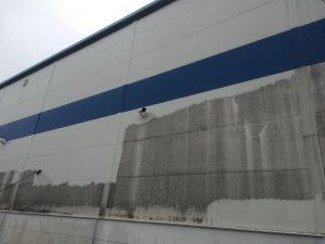 czyszczenie ścian w halach